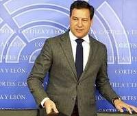 El portavoz parlamentario del PP, Raúl de la Hoz
