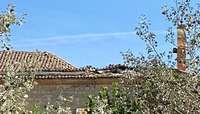 Los ediles de Ampudia donan dinero para arreglar el tejado