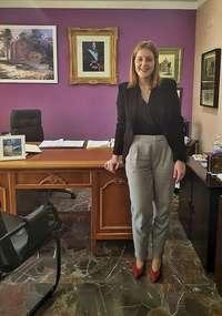 La alcaldesa, Isabel Iniesta