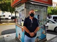 El vendedor de la ONCE con más suerte de Tobarra, se jubila