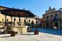 Plaza de la Paz de Haro, donde está la Casa Consistorial de la ciudad.