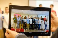 Imagen de archivo de alumnos de Ingeniería Informática de la UR.