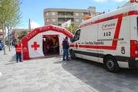 Voluntarios de Cruz Roja de La Roda.