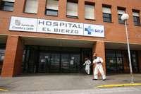 Hospital del Bierzo, en Ponferrada, donde fue trasladada la herida más mayor.