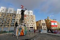 Un muerto y más de 700 heridos en las protestas en Beirut