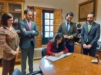 La UEMC y Rioseco inician el proyecto 'Patrimonio Accesible'
