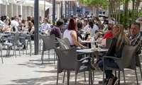Las 529 terrazas de Logroño pagarán 169.000 euros en tasas