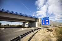 Tramo de la A-11 construido en Aranda de Duero y que une las localidades de Castrillo de la Vega con Fresnillo.