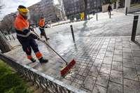 El plan de limpieza intensiva de manchas incorpora barrios