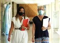 La coordinadora de Servicios Sociales del Grupo Parlamentario Socialista, Nuria Rubio, y la portavoz de Servicios Sociales, Isabel Gonzalo, realizan un balance del primer año de Gobierno de la Junta en materia de Servicios Sociales.