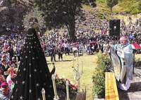 La virgen del Brezo acoge a la comarca en su santuario