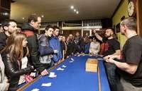 En 2019 quince bares de la ciudad instalaron sus mesas de juego, por las que pasaron miles de euros.