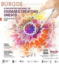 Burgos acoge el II Encuentro Nacional de Ciudades Creativas