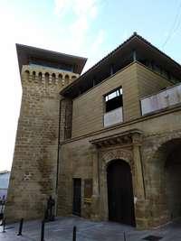 Exterior del Museo del Torreón, en Haro.