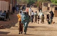 Aspecto de una calle de Nyamei, la capital de Níger. Foto de archivo