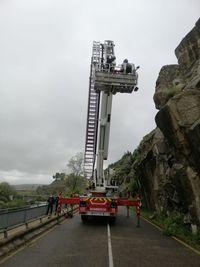 Nuevo desprendimiento de rocas en la carretera del Valle