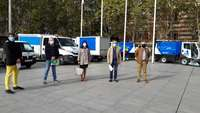 La limpieza intensiva de Logroño arranca en el centro