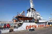 Italia autoriza el desembarco en Palermo del 'Open Arms'