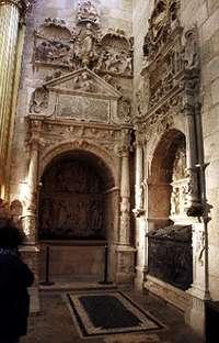 Pan, Medusa y Perseo en el sepulcro de Alonso Díez de Lerma