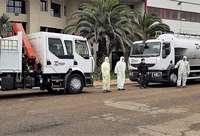 Talauto cede dos camiones para la desinfección de municipios