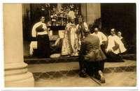 Actos religiosos en la Academia de Infantería (II)