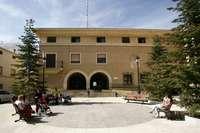 Imagen de archivo de la sede del Ayuntamiento de La Roda.