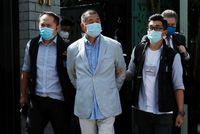 Detienen en Hong Kong al magnate Jimmy Lai por
