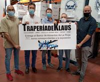 La TraperíadeKlaus entrega 720 euros al Banco de Alimentos