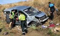 El conductor de la furgoneta accidentada el pasado lunes en Ciudad Rodrigo dio positivo en covid.