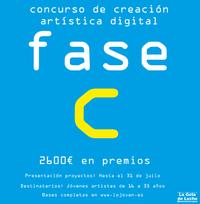 Cierra el plazo del concurso de creación artística 'Fase C'