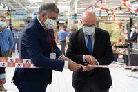Inauguración de la muestra 'El sabor de lo nuestro. Productos de Castilla y León'