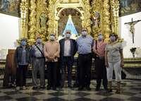La Asociación de la Virgen recibe del Consistorio 8000 euros