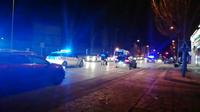Accidente con un motorista implicado en Eduardo Saavedra