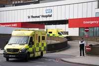 El Reino Unido registra 938 nuevas muertes por Covid-19