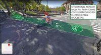 La propuesta ciudadana de Anillo Ciclista de Segovia, en fotomontajes
