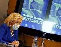 La consejera de Sanidad, Verónica Casado, durante la rueda de prensa posterior al Consejo de Gobierno