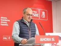 El senador del PSOE riojano, Pedro Montalvo.