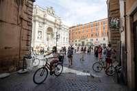 Roma, una ciudad abierta pero sin turistas