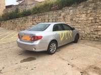 Hacen pintadas en el coche de la alcadesa de Castrojeriz