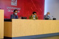 Responsables de la entidad académica, en la reunión del Consejo de Gobierno