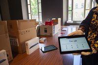 Tabletas adquiridas por el Gobierno de La Rioja para alumnos sin recursos informáticos.