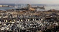 La mayoría de edificaciones de los alrededores del puerto quedaron destrozadas. ?