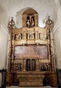 Acaba la restauración del retablo de la Espafía