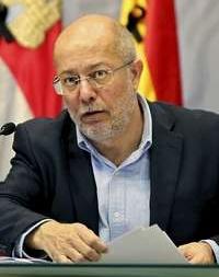 Francisco Igea, durante la rueda de prensa tras el Consejo de Gobierno.