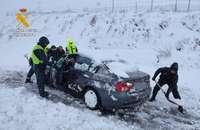 La Junta actúa en 950 kilómetros de carreteras por la nieve