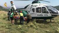 La Guardia Civil rescata a 2 personas en la montaña riojana