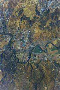 Toledo desde la Estación Espacial Internacional
