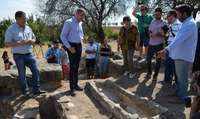 Diputación financia la campaña de excavaciones en Los Hitos