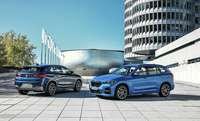 BMW pone en escena dos híbridos enchufables