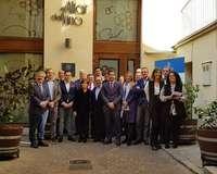 Sáenz de Santamaría, con las empresas familiares de Segovia